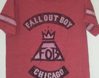 Fall Out Boy Chicago  T-shirt  Size Extra-small XSM