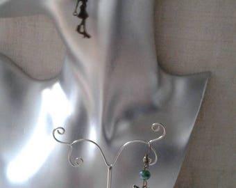 """Earrings """"bronze woman"""""""