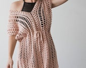 PDF Crochet Pattern for the Easy Breezy Swimsuit Coverup