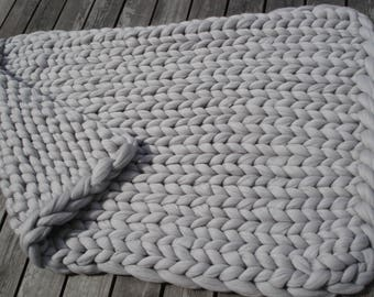 FREE SHIPPING!!! King size bedspread king size wool blanket arm knit blanket super chunky blanket, chunky wool bedspread big wool blanket