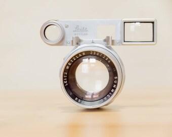 Leica M Summicron 50mm Dual Range with goggles