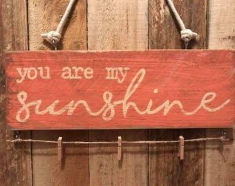 Photo Hanger - You Are My Sunshine