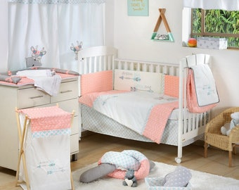 Dream Big Little One Pink Baby Crib Bedding Collection