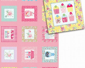 fabric child's SWEET SHOPPE Michele D'AMORE patchwork