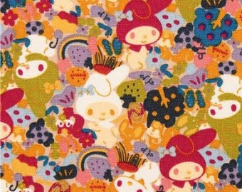 coupon kids patchwork Fabrics SANRIO MY MELODY