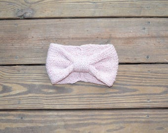 Knit Headband Women, Bow Headband, Gifts for Women, Toddler Hats for Girls, Headband for Girls, Twisted Turban, Ear warmer, Knit Ear warmer