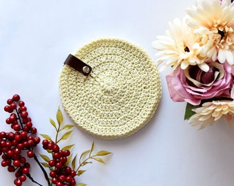Ready To Ship, Crochet Coasters, Three Colours Available, Set Of 6 Coasters, Table Decoration, Home Decor