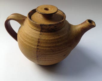 Vintage Earth and Fire Bruce Heggie stoneware teapot / Australian pottery