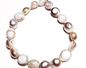 Strand of 12 mm Natural Fresh Water Pearls
