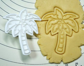Palm Tree  Cookie Cutter and Stamper
