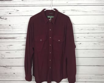 Vintage Land Rover button up