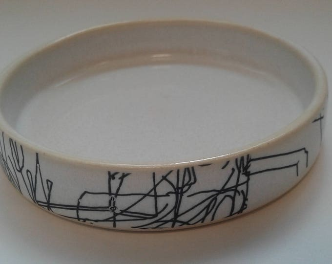 Ceramic ramekin by Gosia Wlodarczak in collaboration with Maria Lieberman