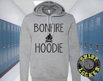 Bonfire Hoodie Camping Premium Hoodie by Bella+Canvas When the night is cold and you need a Bonfire Hoodie!
