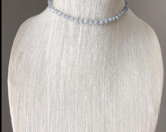 sea breeze beaded choker