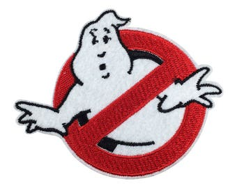 Ghostbusters patch Patch Embroidered Punk Ghostbusters Applique go205