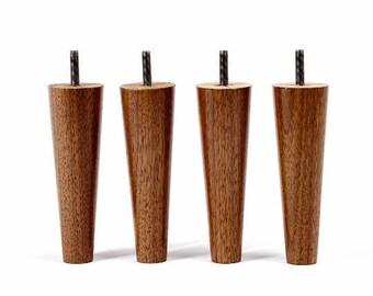 Furniture Legs Wooden sofa legs | etsy