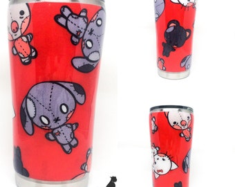 Send your own fabric - fabric tumbler - custom tumbler - syof - 20 ounce - 30 ounce - cold cup - hot cup