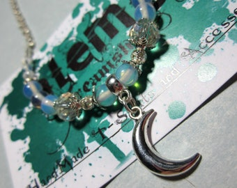 Moon Place-Necklace Short Moon theme