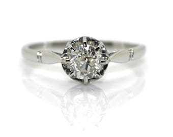 Ring solitaire diamond