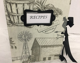 Farmhouse Recipe Journal