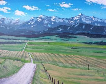 Toward the Rockies