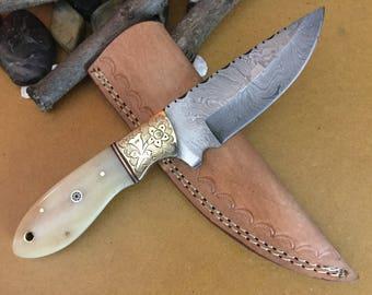 HANDMADE DAMASCUS KNIFE k0172