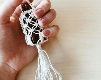 Mini Macrame Hanging Car Diffuser