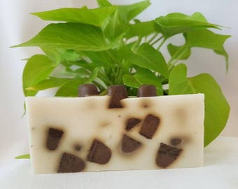 Double Butter, Exfoliating Coffee Bean Soap, 2 oz.