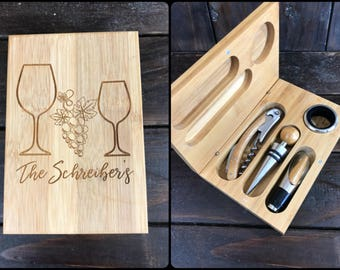 Custom Wine Tool. Engraved Wine Tools. Personalized Wine Tools.
