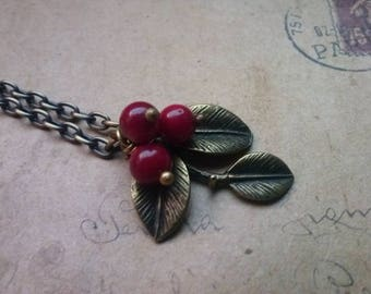 Leaf chain ~ bronze ~.