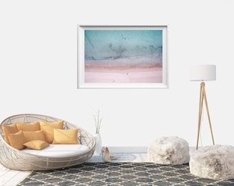 Beach Photo // Ocean Photo // Ocean photography // Ocean Print // Ocean Waves // Nordic Print // Gift for her // Print