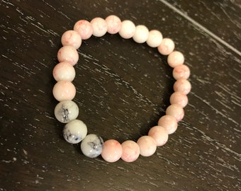 Tickled Pink Bead Bracelet