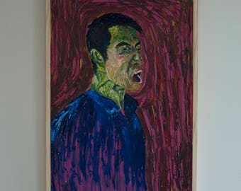 portraiture, expressionism,painting,