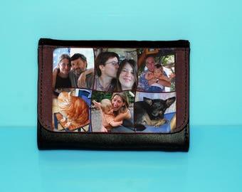 Wallet with 6 photos (size medium)
