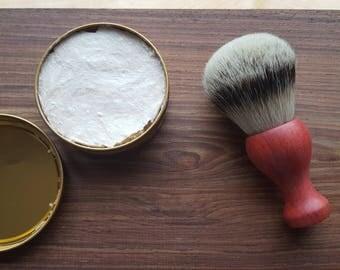 Pink Ivory silvertip shaving brush