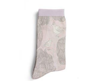 Buy 1 Get 1 FREE - Animal Socks, Flower Socks, Bird Socks, Flower Clothing, Hippie Clothing, Christmas Socks, XMAS Clothing, holiday Gift