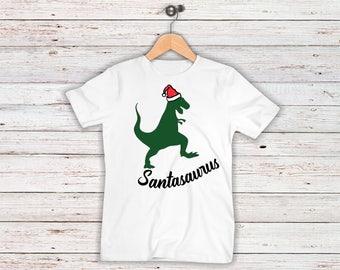 Christmas Santasaurus Toddler/Youth Shirt