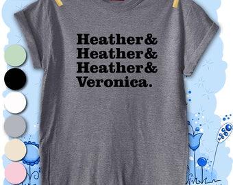 Heathers Unisex Men's T-shirt Top Tee Present Gift