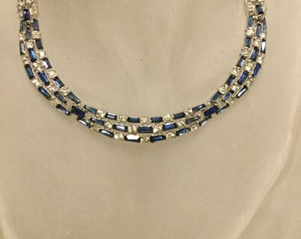 BOUCHER PHRYGIAN CAP Marked Sapphire  Necklace