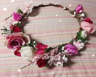 Valentine Flower Crown
