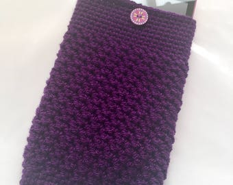 Crochet Device Case, Tablet Case, Kindle Cover, e-Reader Protective Cover, Crochet Cover, Protective Sleeve, Handmade Device Cover, Fab Gift