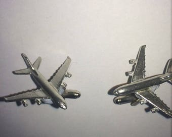 Airbus A380 C64 Pair Of Cufflinks Made From Fine English Modern Pewter