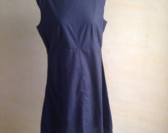 Vintage dress, model 60's very feminine black color