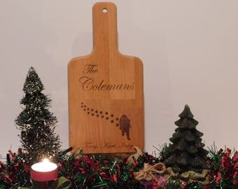 Personalized Cutting Board - FREE Personalization + FREE Easel!
