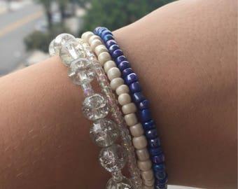 Set of Four Beaded Bracelets