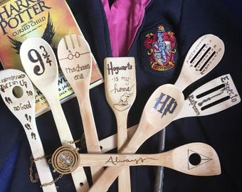 Partial order of Harry Potter spoons