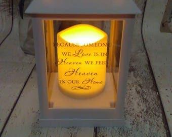 Wedding memorial,wedding memorial lantern,customised lantern,any occassion photo lantern