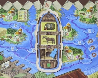 Village board game player ship