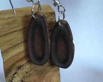 Earrings of Caribou Antler