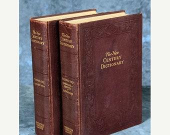 The New Century Dictionary 1952 2 Vol Set